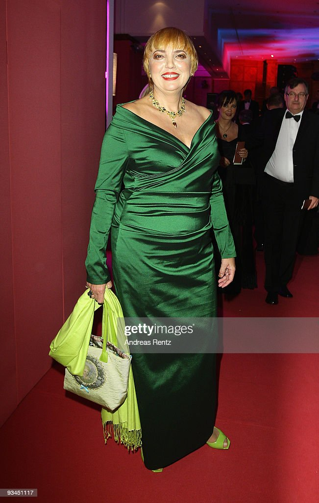German Politician Claudia Roth attends the annual press ball 'Bundespresseball' at the Intercontinental Hotel in Berlin on November 27 2009 in Berlin...