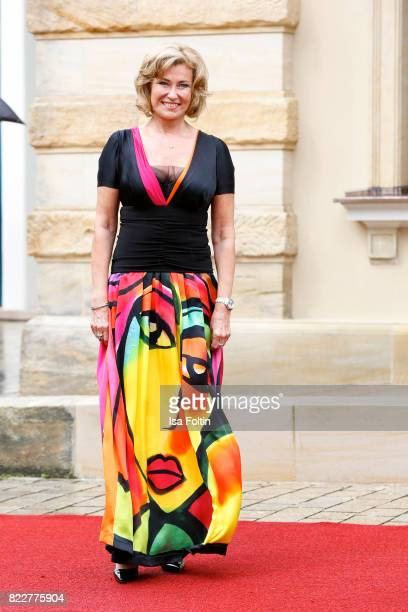 German politician Dagmar Woehrl attends the Bayreuth Festival 2017 Opening on July 25 2017 in Bayreuth Germany