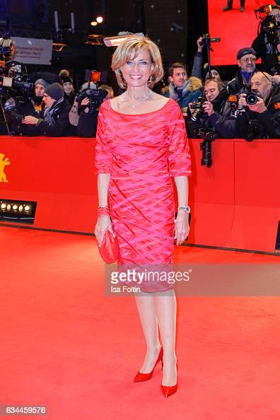 German politician Dagmar Woehrl attends the 'Django' premiere during the 67th Berlinale International Film Festival Berlin at Berlinale Palace on...