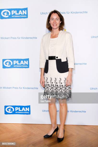 German politician Katarina Barley attends the Ulrich Wickert Award For Children's Rights at Stadtbad Oderberger on September 28 2017 in Berlin Germany