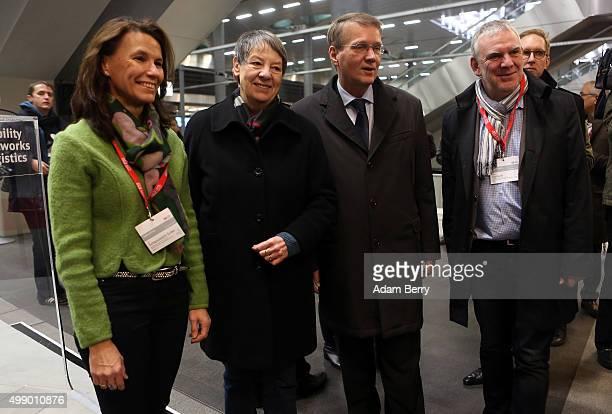German politician Rita SchwarzeluehrSutter German federal Environment Minister Barbara Hendricks Ronald Pofalla former Chief of Staff of the German...