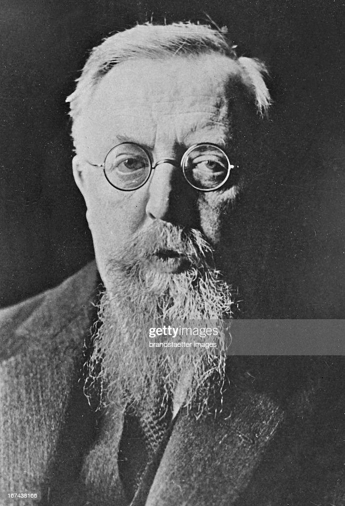 German politician Thomas Esser. Photograph. About 1930. (Photo by Imagno/Getty Images) Der deutsche Politiker Thomas Eßer. Photographie. Um 1930.