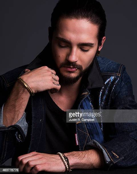 German pop rock band Tokio Hotel is photographed for Just Jared on January 14 2015 in Los Angeles California