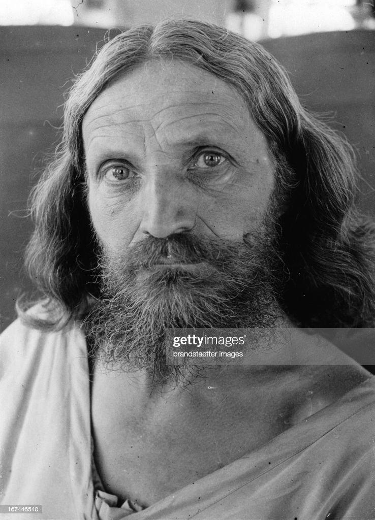 German preacher Gustav Nagel. Portrait. 1931. Photograph. (Photo by Imagno/Getty Images) Der deutsche Wanderprediger Gustav Nagel. Portrait. 1931. Photographie.