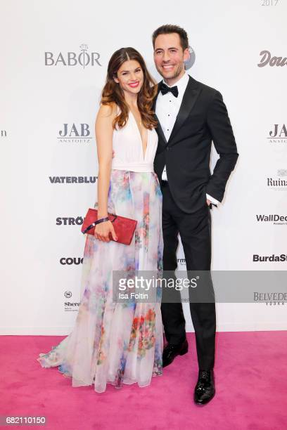 German presenter Alexander Mazza and his wife Viola Mazza attend the Duftstars at Kraftwerk Mitte on May 11 2017 in Berlin Germany
