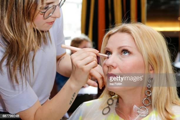 German presenter Alexandra Bechtel attends the Kempinski Fashion Dinner on May 23 2017 in Munich Germany
