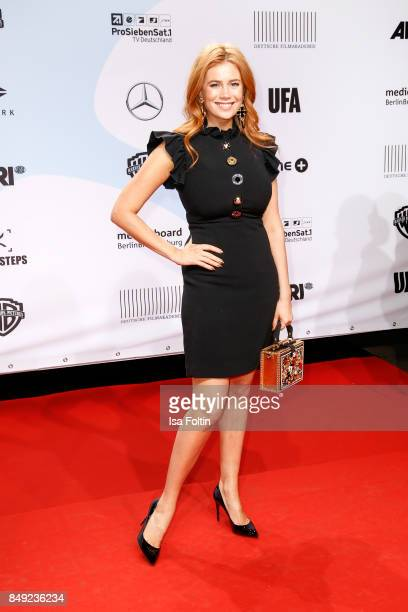 German presenter and actress Palina Rojinski attends the First Steps Awards 2017 at Stage Theater on September 18 2017 in Berlin Germany