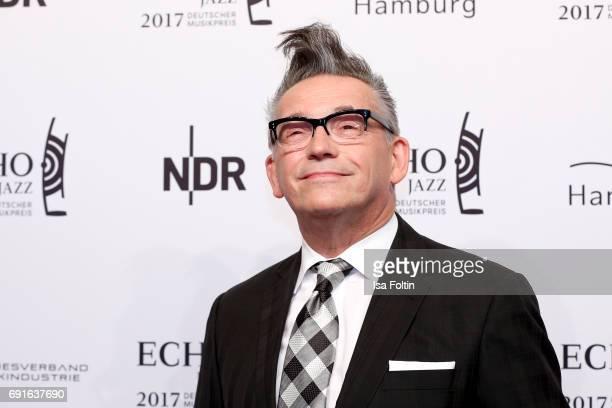 German presenter Goetz Alsmann during the Echo Jazz 2017 on June 1 2017 in Hamburg Germany