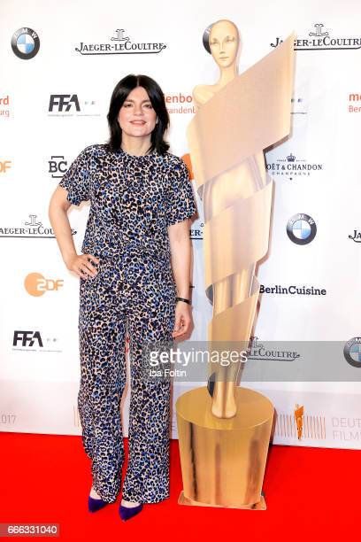 German presenter Jasmin Tabatabai attends the nominee dinner for the German Film Award 2017 Lola at BMW Niederlassung Berlin on April 8 2017 in...