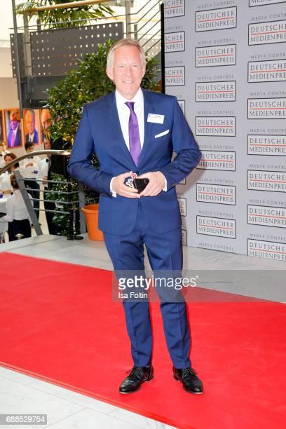 German presenter Johannes B Kerner during the German Media Award 2016 at Kongresshaus on May 25 2017 in BadenBaden Germany The German Media Award has...