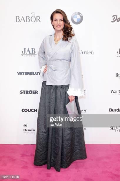 German presenter Katrin Wrobel attends the Duftstars at Kraftwerk Mitte on May 11 2017 in Berlin Germany