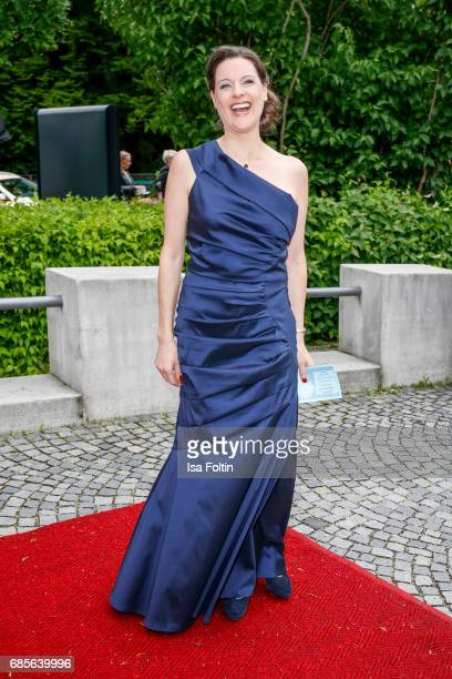 German presenter KaySoelve Richter attends the Bayerischer Fernsehpreis 2017 at Prinzregententheater on May 19 2017 in Munich Germany