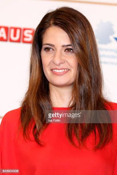 German presenter Linda Zervakis attends the 'Deutscher Radiopreis' at Elbphilharmonie on September 7 2017 in Hamburg Germany
