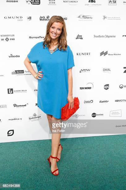German presenter Nina Eichinger attends the GreenTec Awards at ewerk on May 12 2017 in Berlin Germany