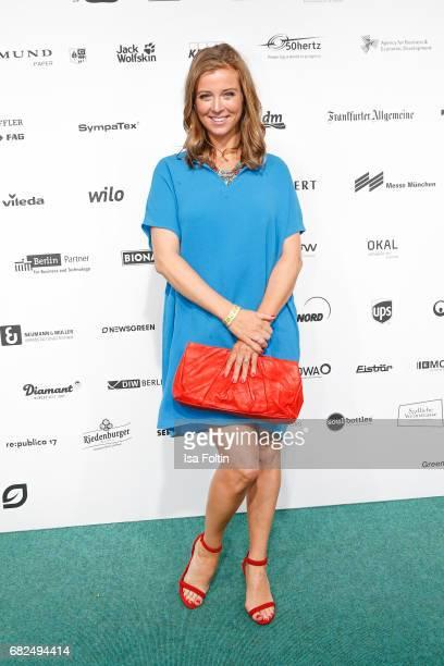 German presenter Nina Eichinger attends the GreenTec Awards at ewerk on May 12 2017 in Berlin Germany