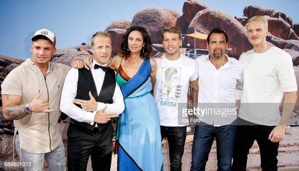 German presenter Oliver Pocher German singer Pietro Lombardi Lilly Becker German actor Raul Richter former DDR soccer player Ulf Kirsten and model...