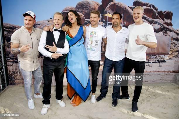 German presenter Oliver Pocher German singer Pietro Lombardi Lilly Becker German actor Raul Richter former DDR soccer player Ulf Kirsten and model...