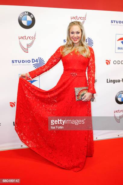 German presenter Ruth Moschner attends the Victress Awards Gala on May 8 2017 in Berlin Germany