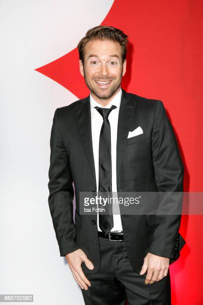 German presenter Sebastian Hoeffner attends the Bayerischer Fernsehpreis 2017 at Prinzregententheater on May 19 2017 in Munich Germany