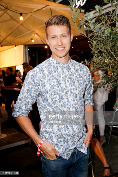 German presenter Sebastiano Schweitzer during the 'True Berlin' Hosted By Shan Rahimkhan on July 11 2017 in Berlin Germany