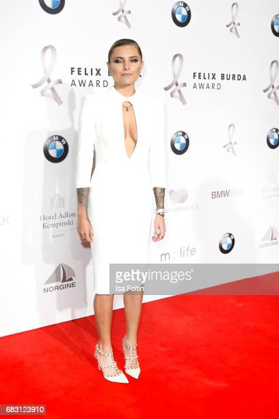 German presenter Sophia Thomalla attends the Felix Burda Award 2017 at Hotel Adlon on May 14 2017 in Berlin Germany