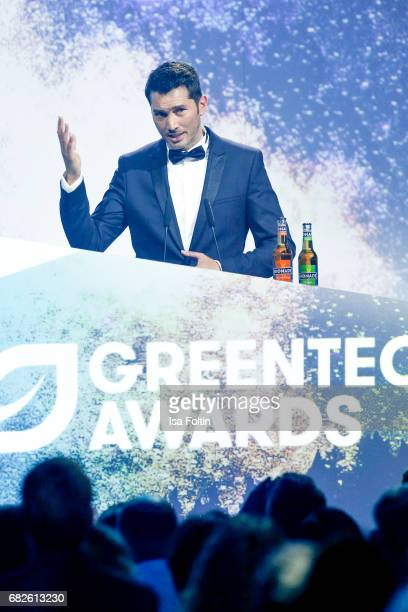 German presenter Stefan Goedde during the GreenTec Awards Show at ewerk on May 12 2017 in Berlin Germany