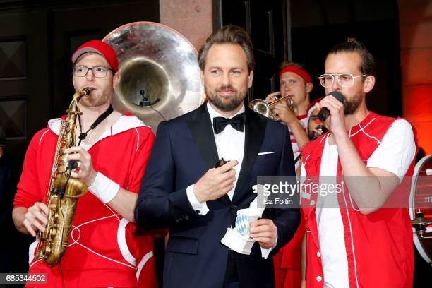 German presenter Steven Gaetjen attends the Bayerischer Fernsehpreis 2017 at Prinzregententheater on May 19 2017 in Munich Germany