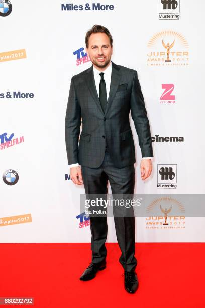 German presenter Steven Gaetjen attends the Jupiter Award at Cafe Moskau on March 29 2017 in Berlin Germany