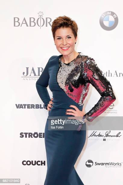 German presenter Vanessa Blumhagen attends the Duftstars at Kraftwerk Mitte on May 11 2017 in Berlin Germany