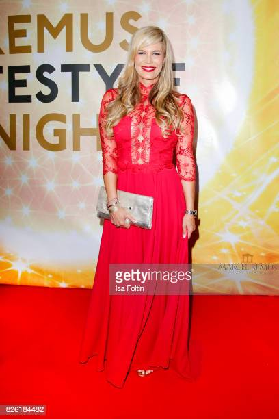 German presenter Verena Wriedt attends the Remus Lifestyle Night on August 3 2017 in Palma de Mallorca Spain