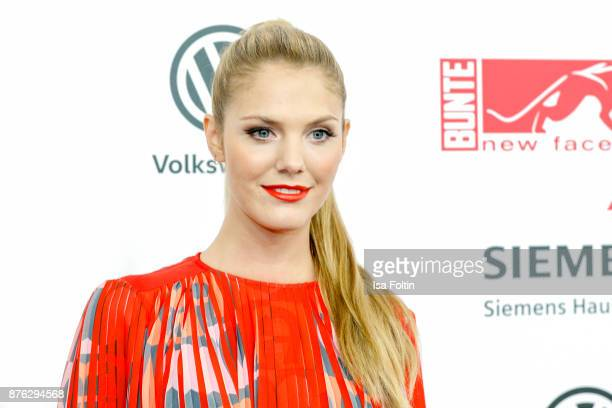 German presenter Viviane Geppert attends the New Faces Award Style 2017 at The Grand on November 15 2017 in Berlin Germany