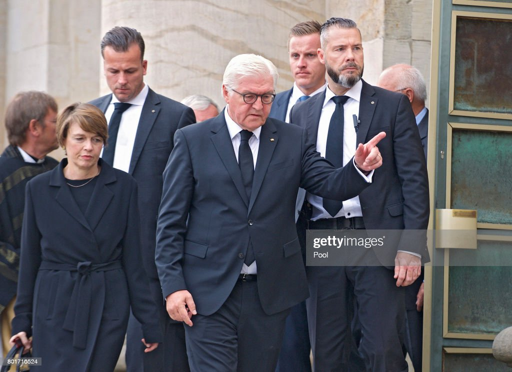 CDU And CSU Hold Helmut Kohl Memorial Service