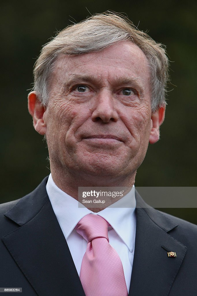 German President Horst Koehler attends the presidential summer garden party at Bellevue Palace on June 19, 2009 in Berlin, Germany. The presidential summer garden party is among the main Berlin social events of the year.