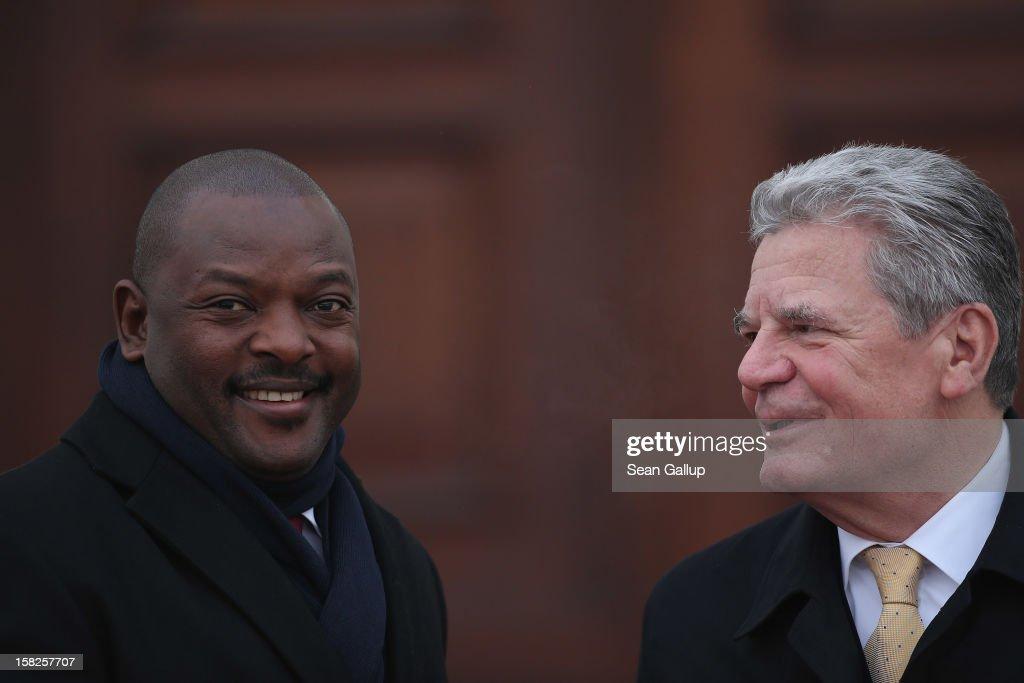 Burundi President Nkurunziza Visits Germany