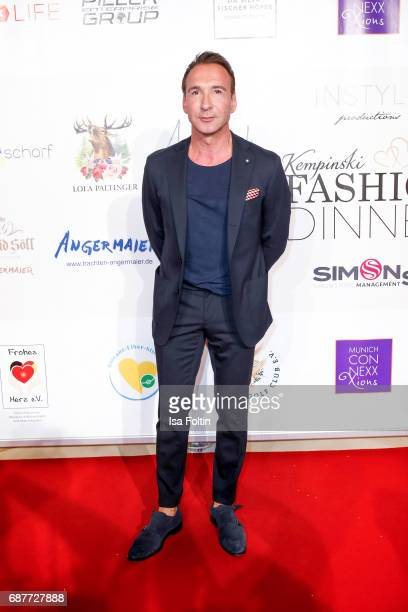 German radio presenter Jochen Bendel attends the Kempinski Fashion Dinner on May 23 2017 in Munich Germany