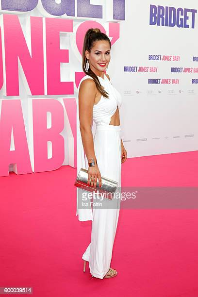 German RealityTV Actress Angelina Heger attends the 'Bridget Jones Baby' German Premiere at Zoo Palast on September 7 2016 in Berlin Germany