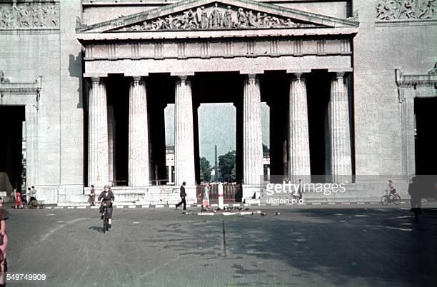 German Reich Bavaria Munich The Propylaes at the Koenigsplatz 1940