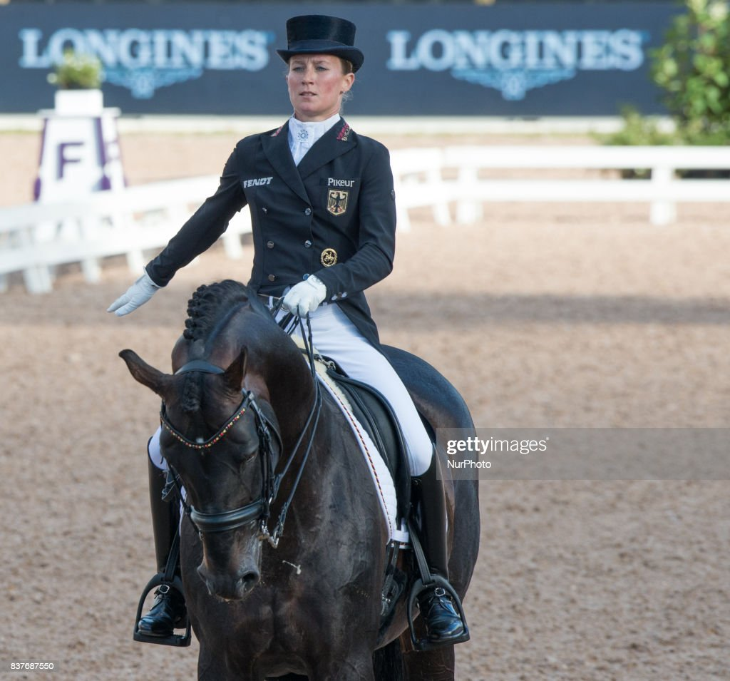 The team dressage competition - FEI European Championships
