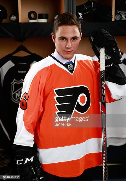 German Rubtsov selected 22nd overall by the Philadelphia Flyers poses for a portrait during round one of the 2016 NHL Draft at First Niagara Center...