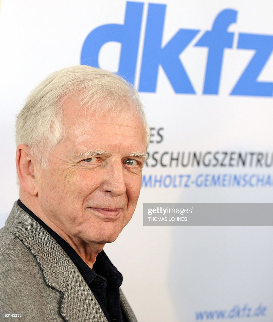 Viral News From Germany: German Scientist Harald Zur Hausen Poses On October 6