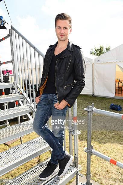 German singer Alexander Klaws during the SchlagerOlymp on August 13 2016 in Berlin Germany