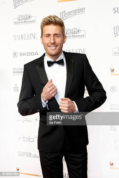 German singer and moderator Maxi Arland attends the Goldene Henne on October 28 2016 in Leipzig Germany