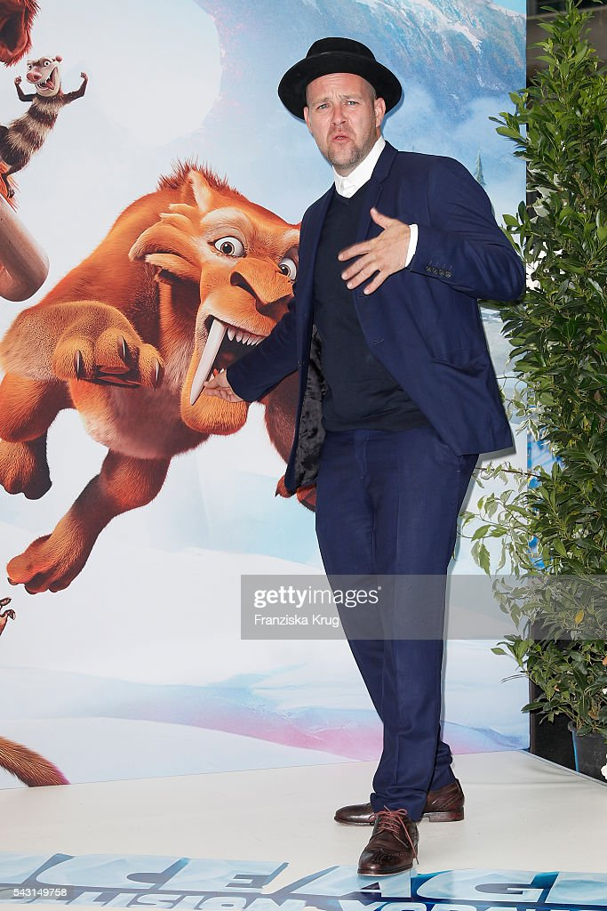 German singer <a gi-track='captionPersonalityLinkClicked' href=/galleries/search?phrase=Ben+-+Singer&family=editorial&specificpeople=4593754 ng-click='$event.stopPropagation()'>Ben</a> attends the 'Ice Age - Kollision Voraus' German Premiere at CineStar on June 26, 2016 in Berlin, Germany.