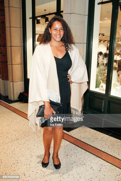 German singer Cassandra Steen attends the Yargici Flagship Store Opening at Levantehaus on May 31 2017 in Hamburg Germany