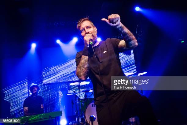 German singer Daniel Wirtz performs live on stage during a concert at the Columbia Theater on May 20 2017 in Berlin Germany