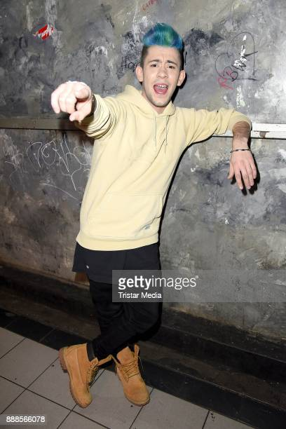 German singer Daniele Negroni during a exclusive photo session at Luxor Club on December 8 2017 in Cologne Germany