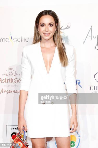German singer Grace Capristo attends the Kempinski Fashion Dinner on May 23 2017 in Munich Germany