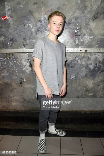 German singer Iggi Kelly during a exclusive photo session at Luxor Club on December 8 2017 in Cologne Germany