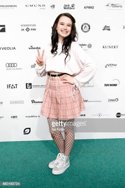 German singer JamieLee Kriewitz attends the GreenTec Awards at ewerk on May 12 2017 in Berlin Germany