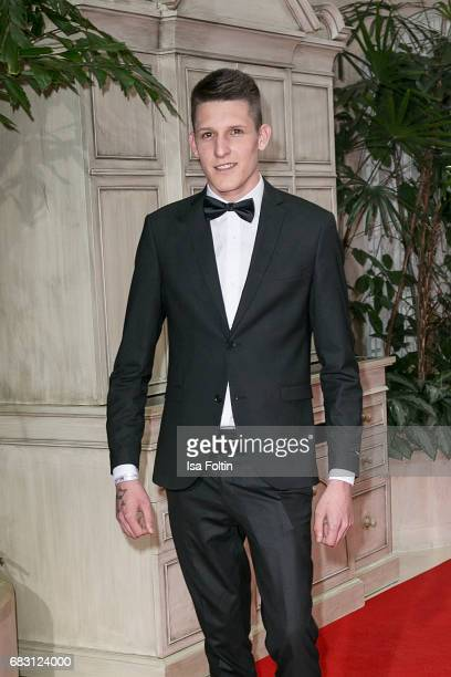 German singer Jannik Rubeck attends the Felix Burda Award 2017 at Hotel Adlon on May 14 2017 in Berlin Germany